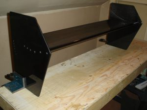 Eppler 420 Tunnel Front Wing #1 w End Plates 2