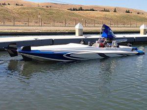 Mounted on Kjell's Boat