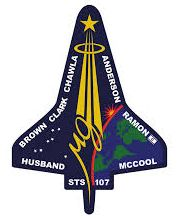 STS-107 patch small